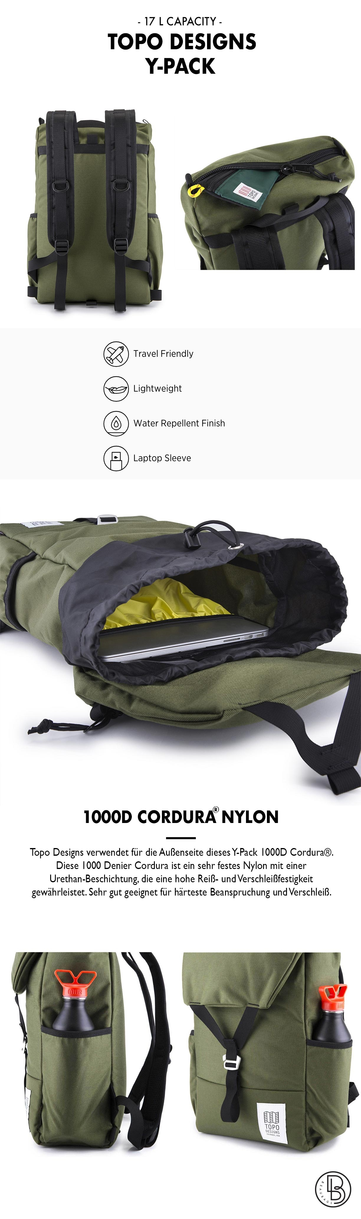 Topo Designs Y-Pack Produktinformationen
