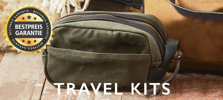 Filson Travel Kits