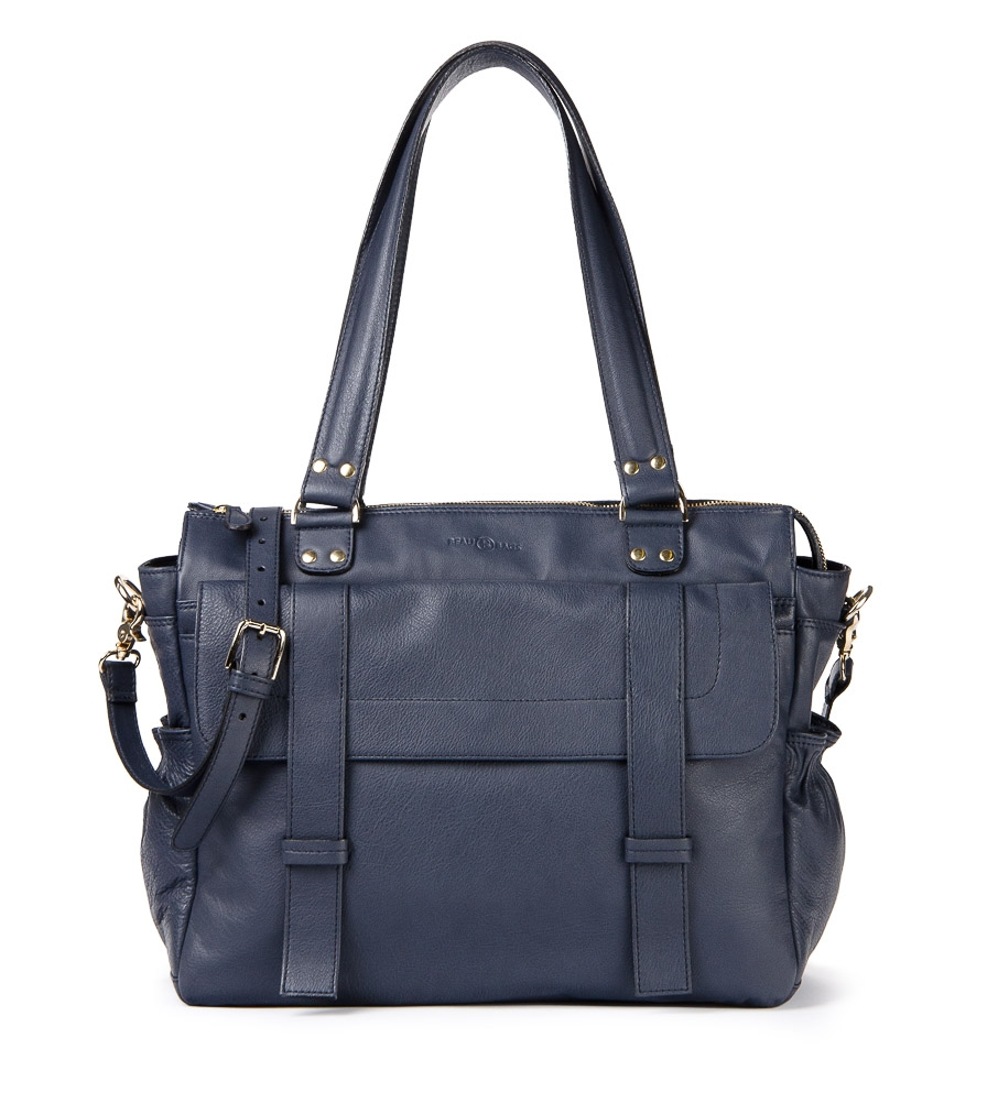 Damen Laptoptasche Sarah Navy Blue