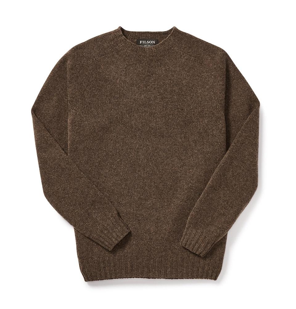 Filson 4gg Crewneck Sweater DarkWalnut