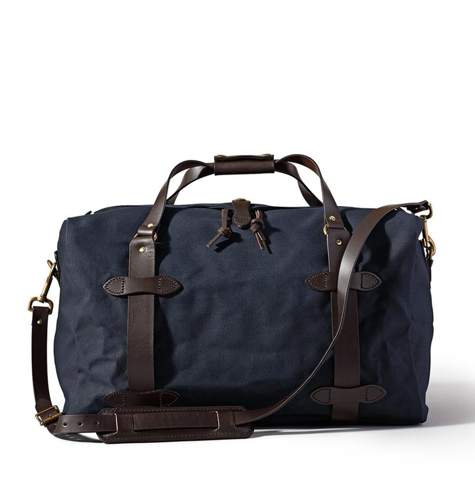 Filson Rugged Twill Duffle Bag Medium 11070325-Navy