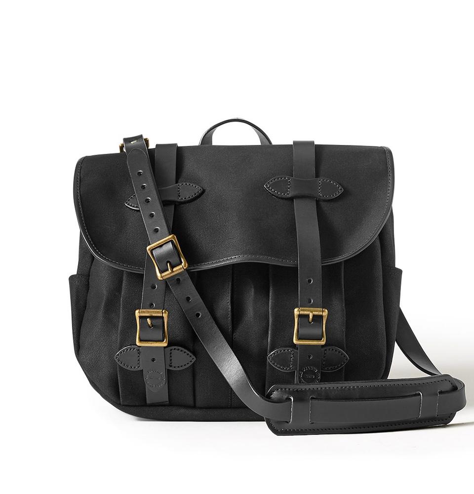 Filson Rugged Twill Field Bag Medium 11070232-Black