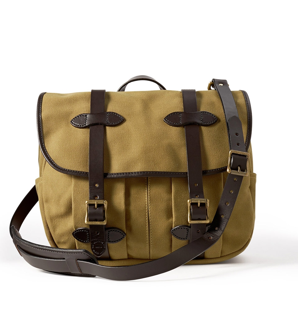 Filson Rugged Twill Field Bag Medium 11070232-Tan