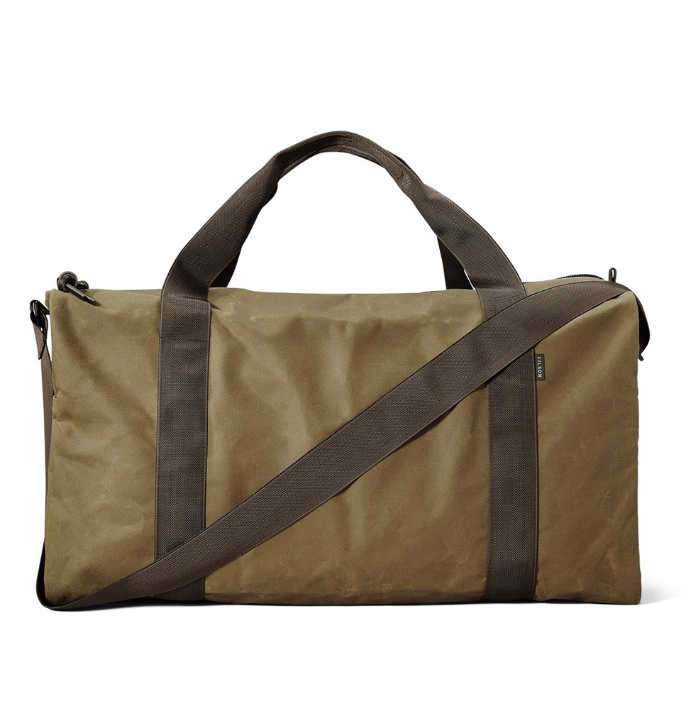 Filson Tin Cloth Field Duffle Bag Medium 11070015-DarkTan/Brown