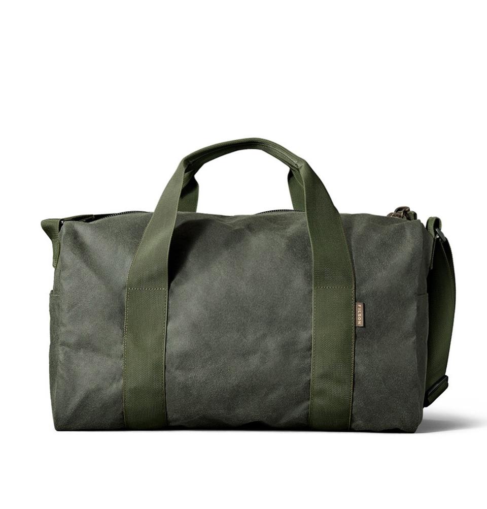 Filson Tin Cloth Field Duffle Bag Small 11070110-Spruce