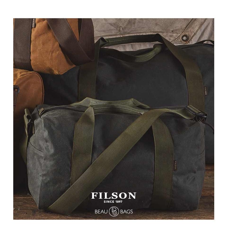 ffb411b725 ... Filson Field Duffle Small Spruce lifestyle back
