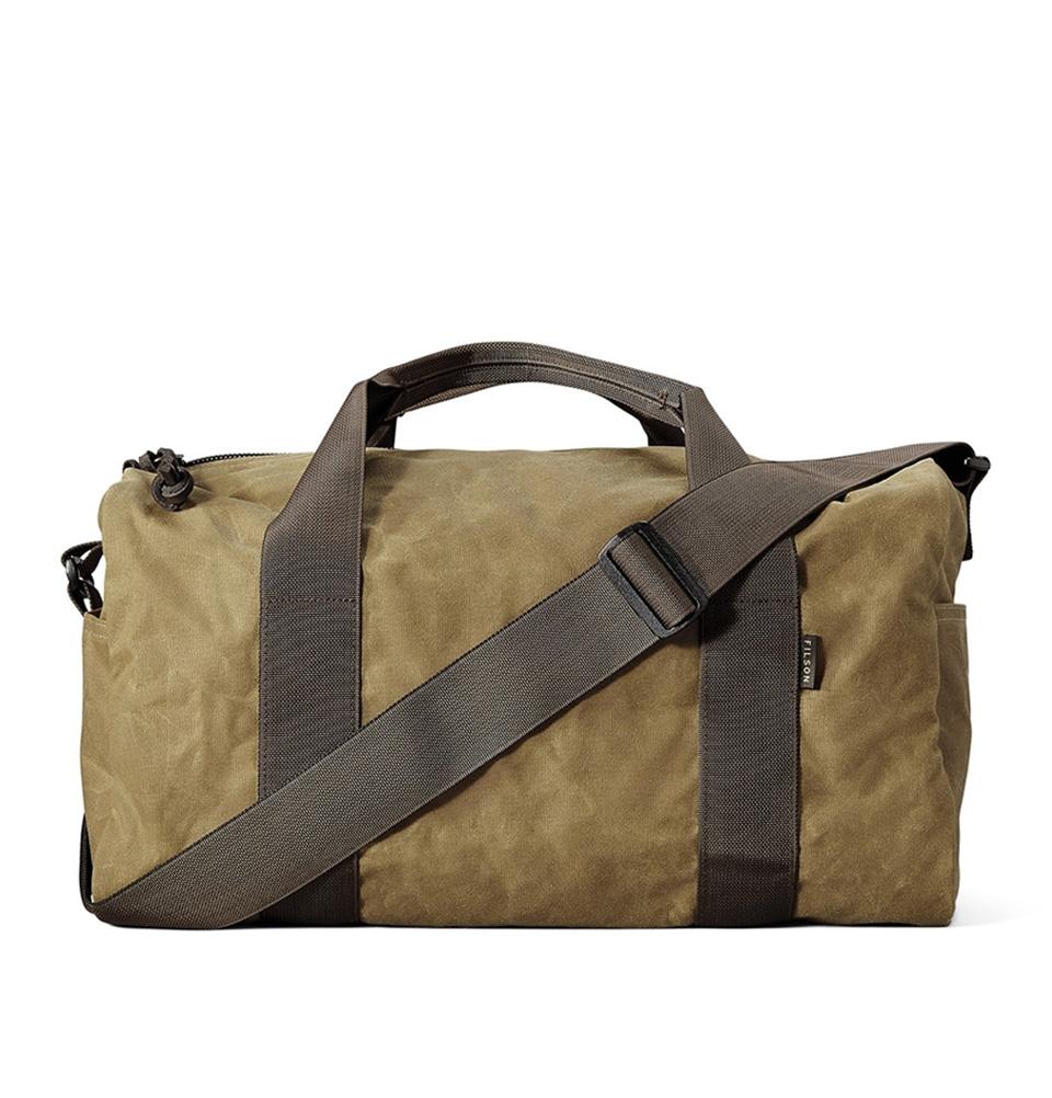 Filson Tin Cloth Field Duffle Bag Small 11070110-Dark Tan/Brown