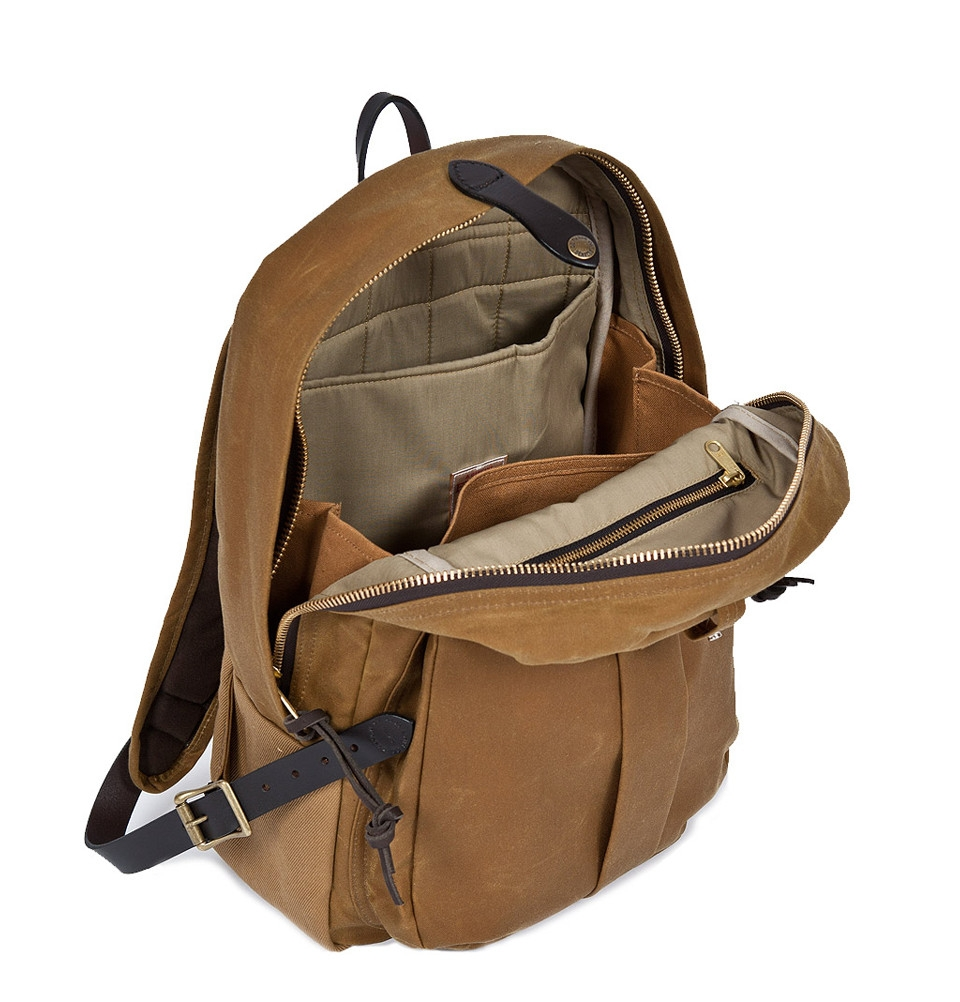 filson journeyman backpack klassische backpack elegant und hochwertig. Black Bedroom Furniture Sets. Home Design Ideas