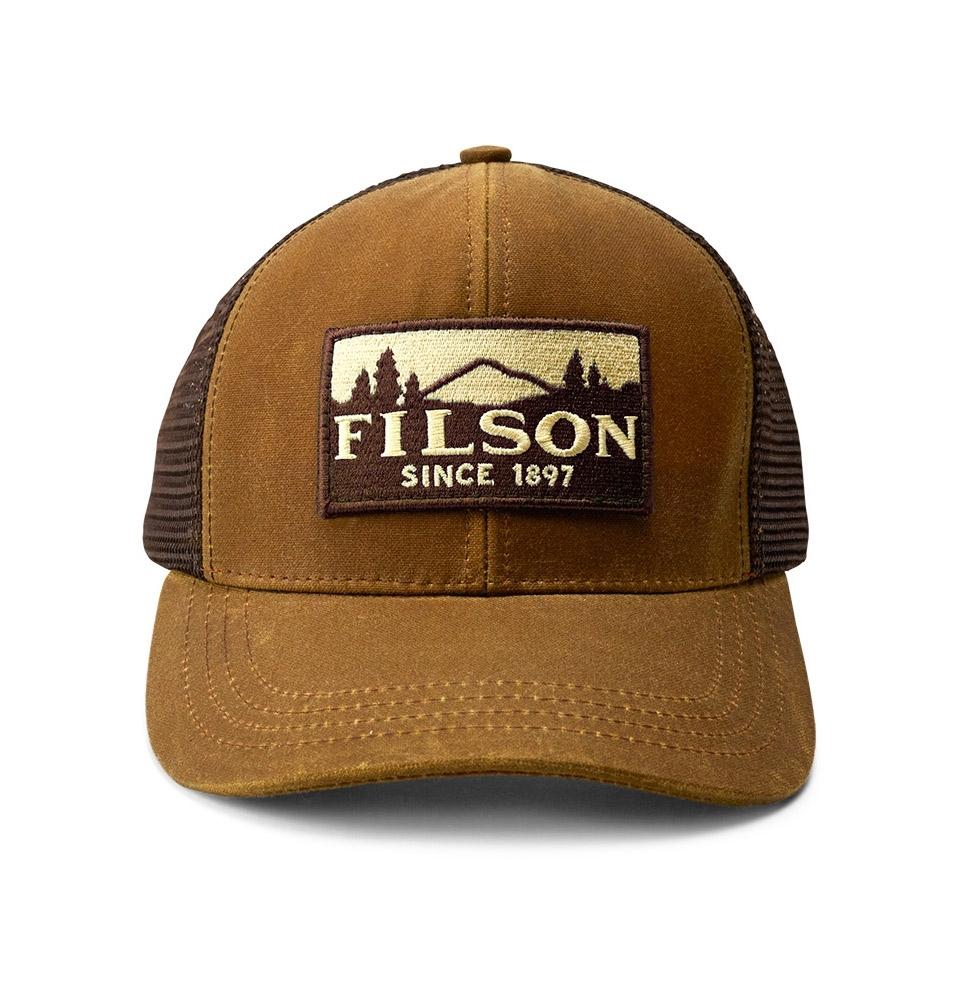Filson Logger Mesh Cap 11030237-Dark Tan