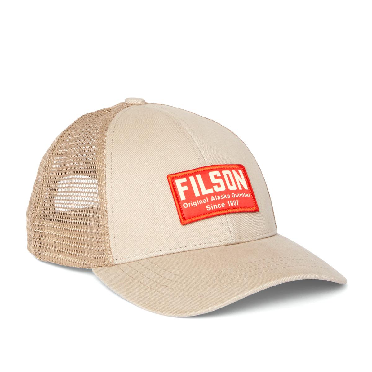 Filson Mesh Snap-Back Logger Cap 20204520-Khaki