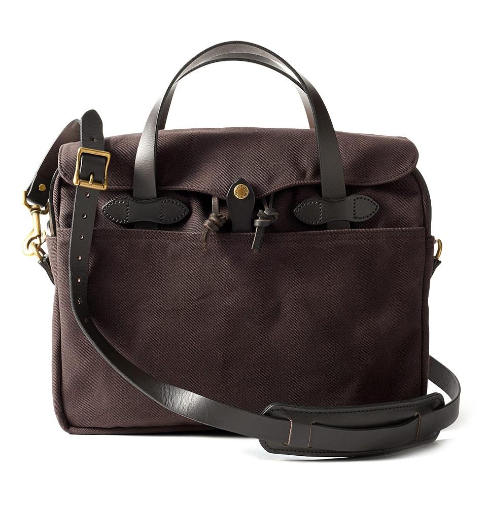 Filson Rugged Twill Original Briefcase 11070256-Brown