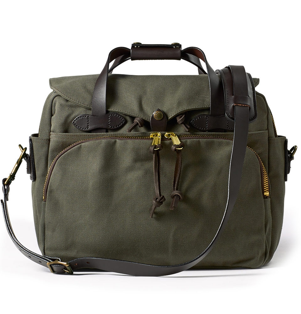 Filson Rugged Twill Padded Computer Bag 11070258-Otter Green