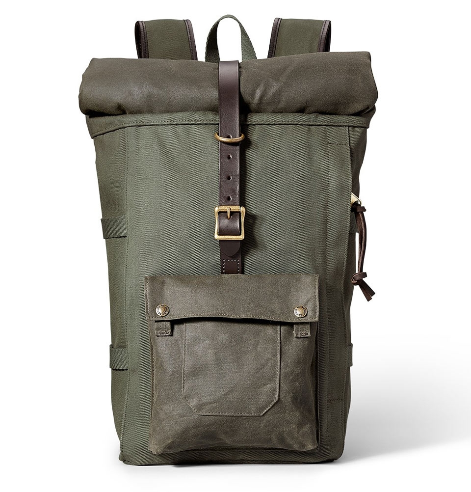 Filson Roll-Top Backpack 11070388-Otter Green