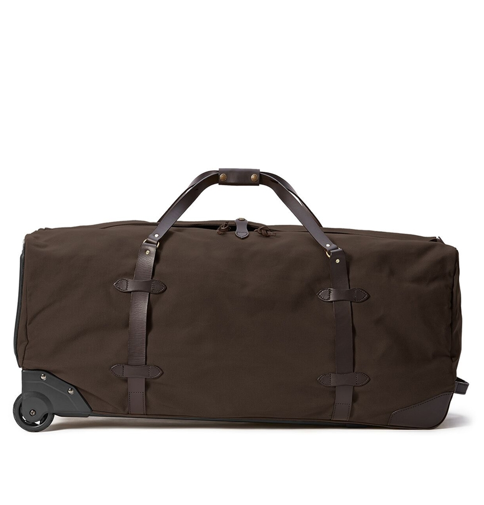 Filson Rugged Twill Rolling Duffle Bag Extra-Large 11070376-Brown