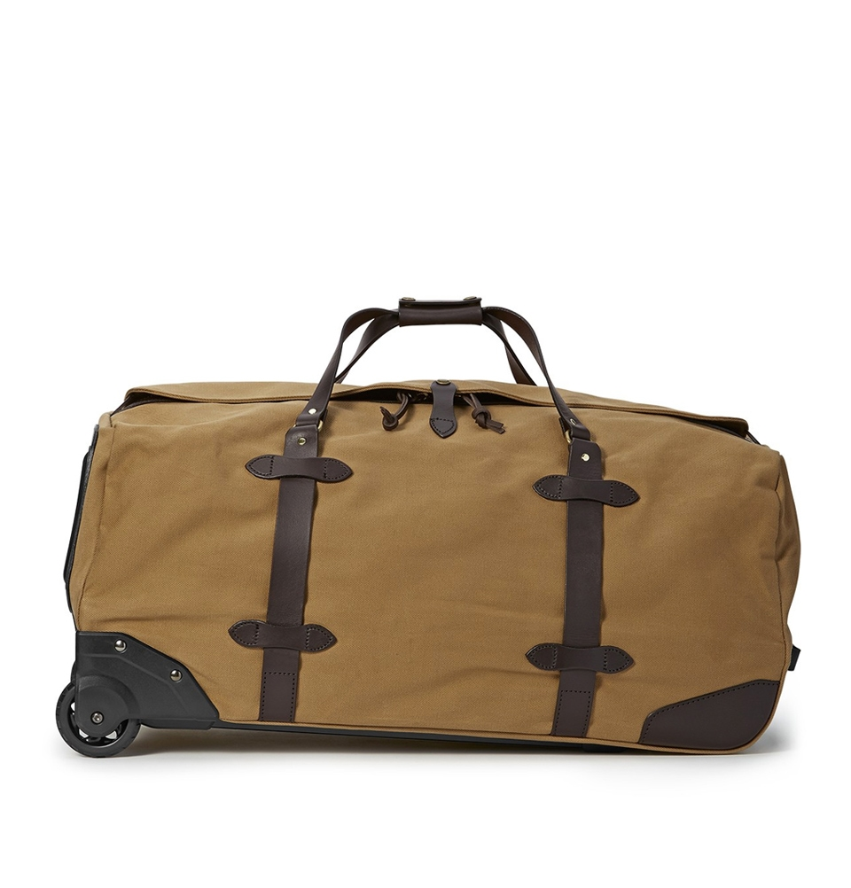 Filson Rugged Twill Rolling Duffle Bag Large 11070375-Tan