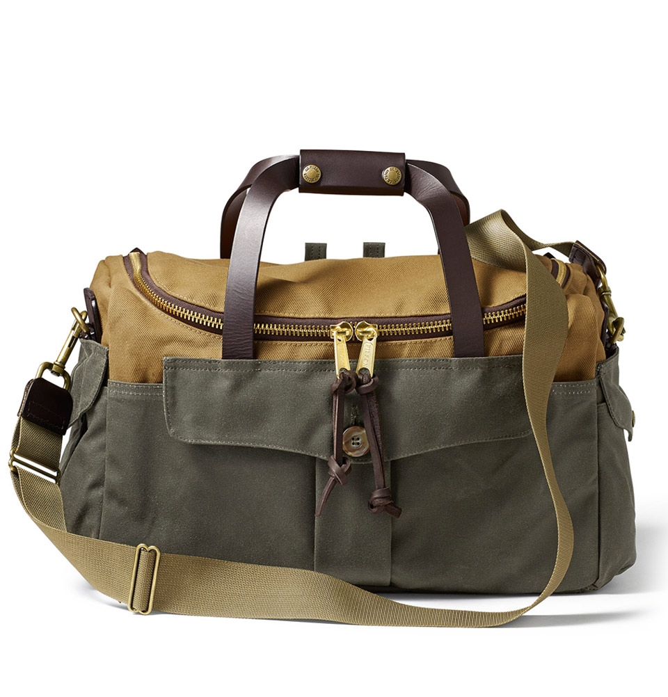 Filson Heritage Sportsman Bag 11070073-Tan/Otter Green