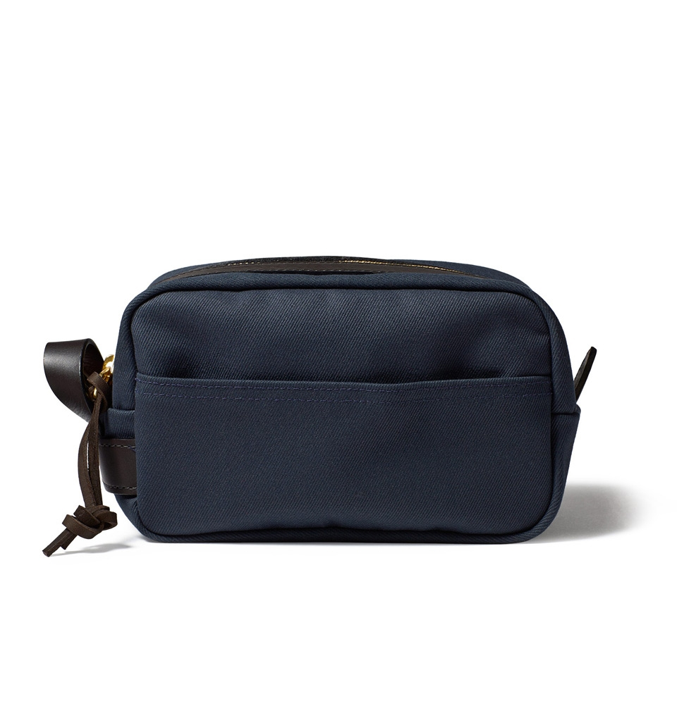 Filson Rugged Twill Travel Kit 11070218-Navy