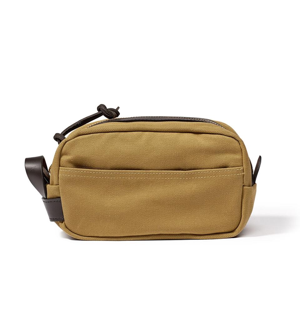 Filson Rugged Twill Travel Kit 11070218-Tan