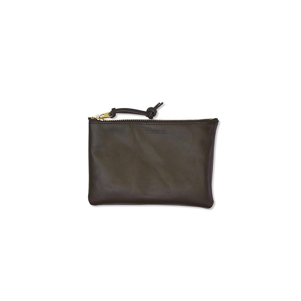 Filson Leather Pouch-Medium 11063220-Moss