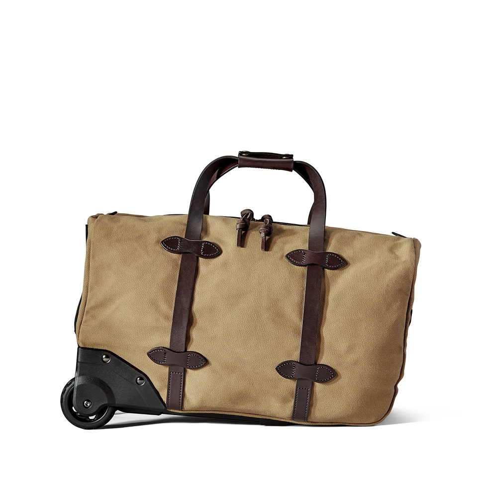 Filson Rugged Twill Rolling Duffle Bag Small 20002694-Tan