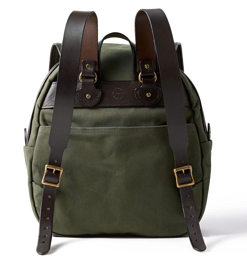 filson rucksack otter green klassische rucksack elegant und hochwertig. Black Bedroom Furniture Sets. Home Design Ideas