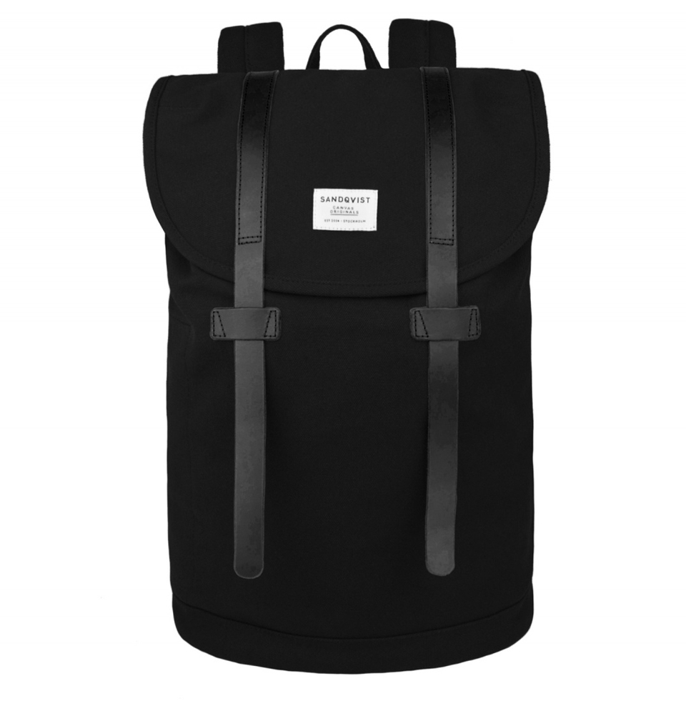 Sandqvist Stig large backpack Black