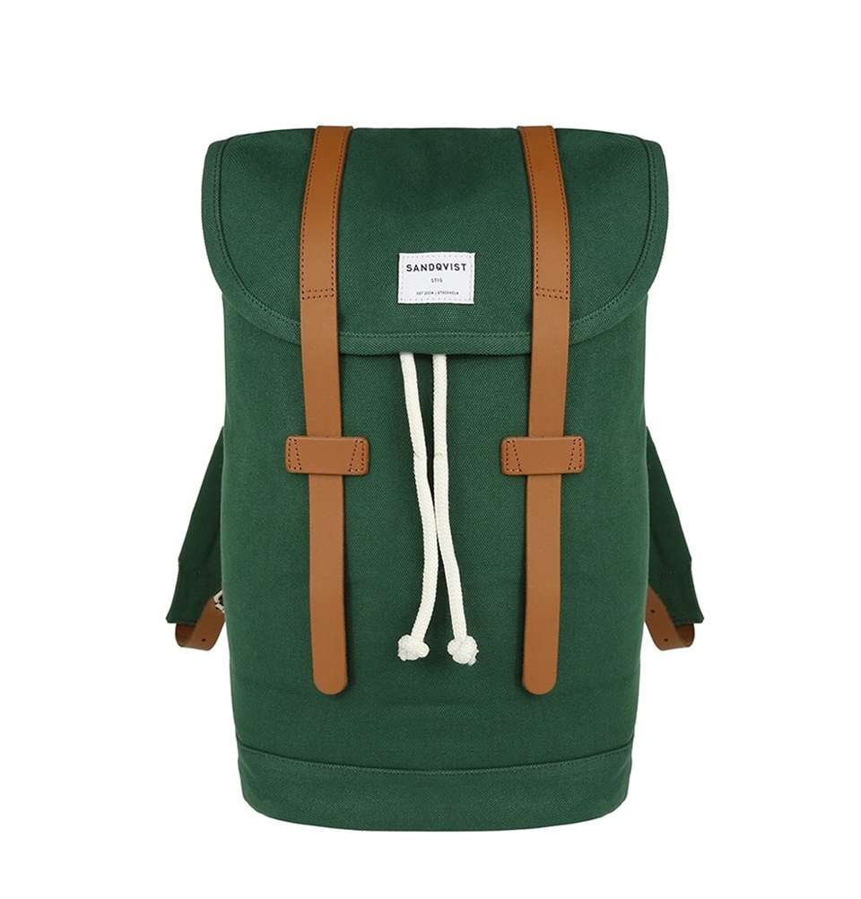 Sandqvist Stig backpack Forest Green