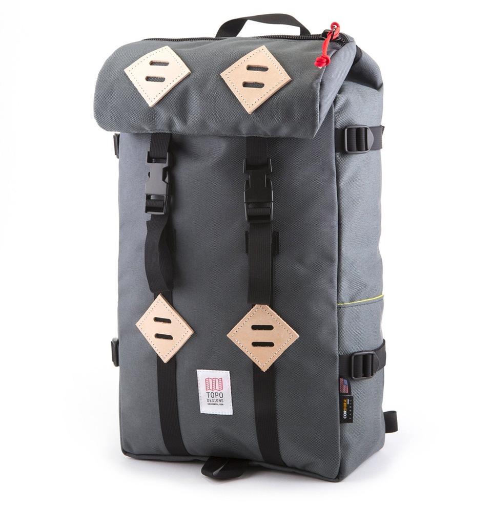Topo Designs Klettersack Charcoal