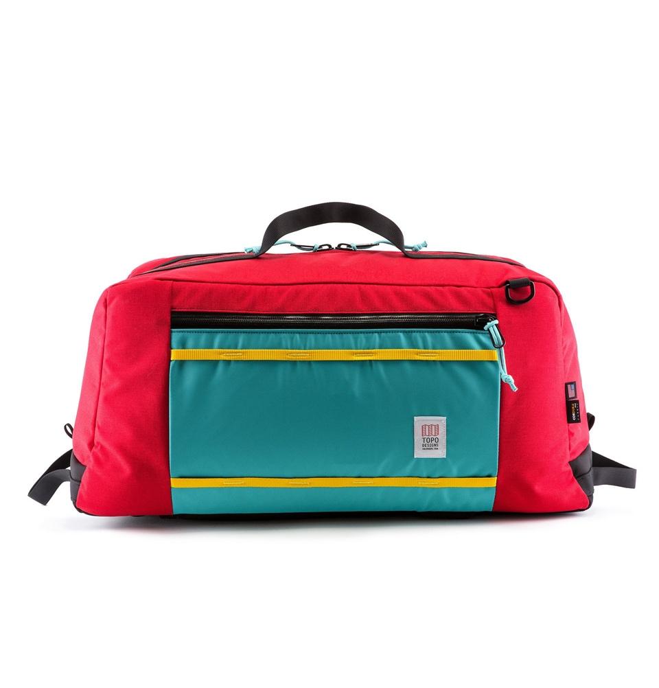 Topo Designs Mountain Duffel Red (60L)