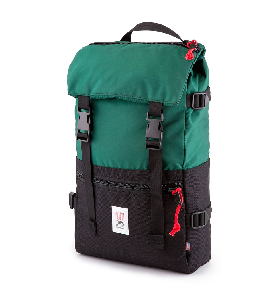 Topo Designs Rover Pack Forest/Black
