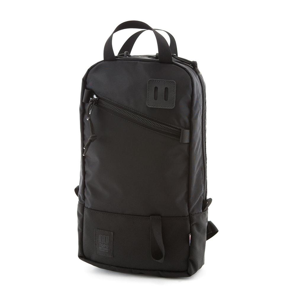 Topo Designs Trip Pack Ballistic Black