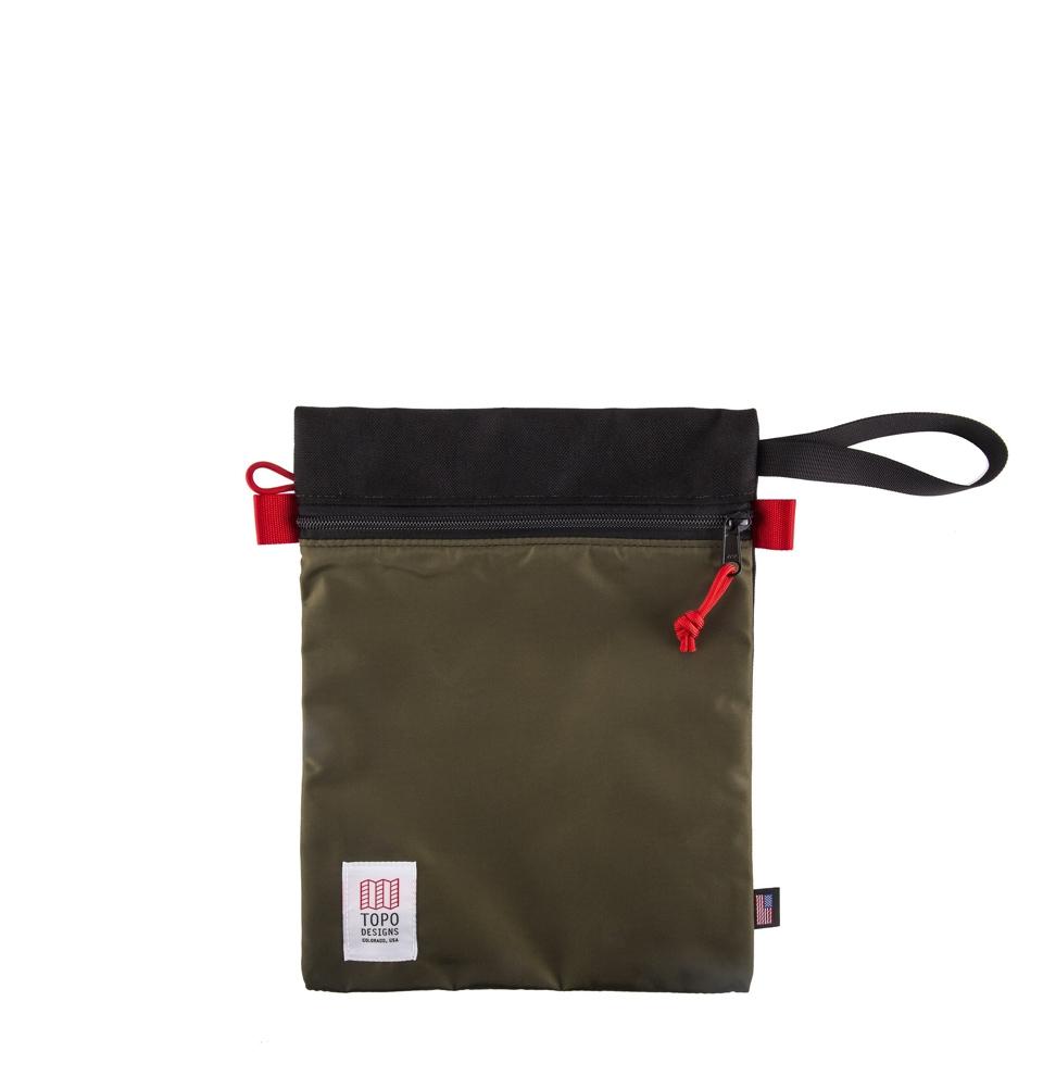 Topo Designs Utility Bag Black/Olive