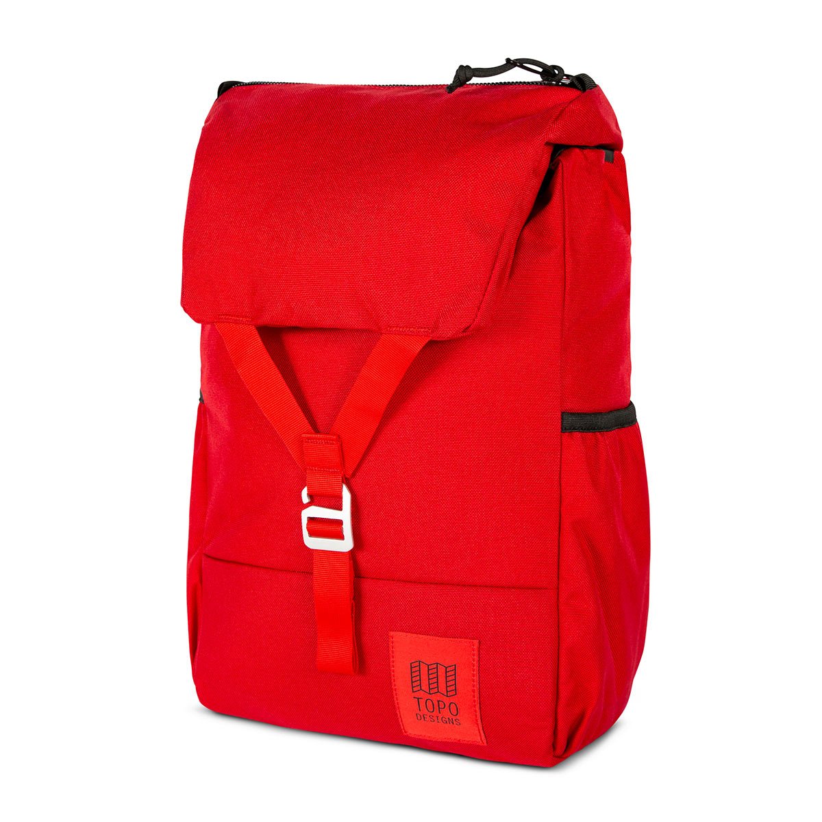 Topo Designs Y-Pack Red/Red