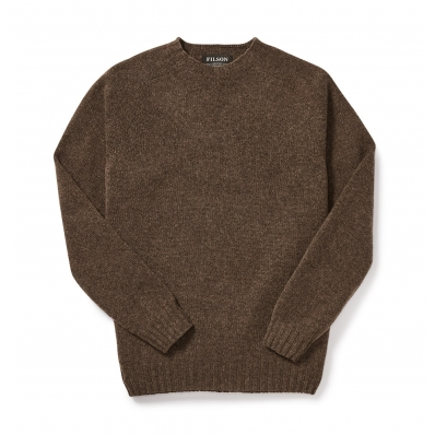 Filson 4gg Crewneck Sweater 20067988 DarkWalnut