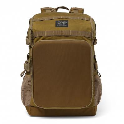 Filson Alcan Tin Cloth Tool Backpack 20167379-Dark Tan