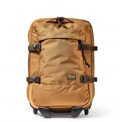 Filson Ballistic Nylon Dryden 2-Wheel Rolling Carry-On Bag 20047728-Whiskey