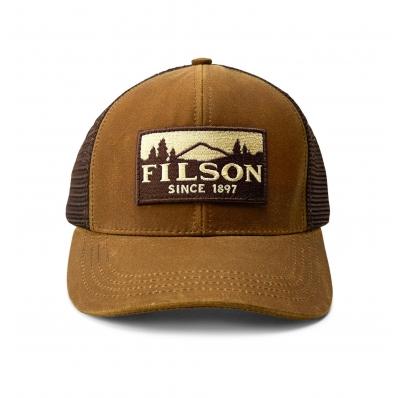 Filson Logger Mesh Cap 1130237-Dark Tan