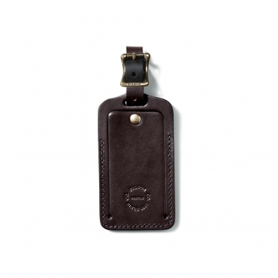 Filson Luggage Tag Brown