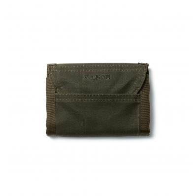 Filson Oil Finish Tri-Fold Wallet 11069150 Otter Green