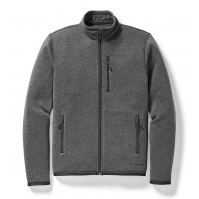 Filson Ridgeway Fleece Jacket Charcoal Heather