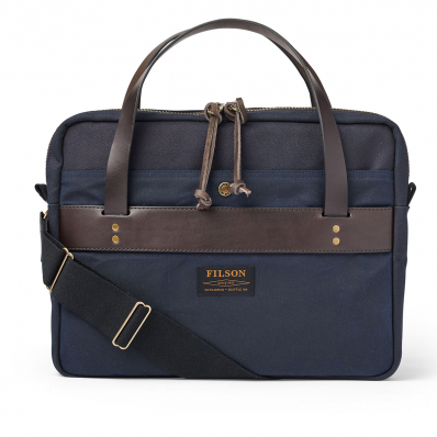 Filson Rugged Twill Compact Briefcase 20201029-Navy