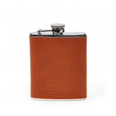 Filson Flask 11069201-Dark Tan