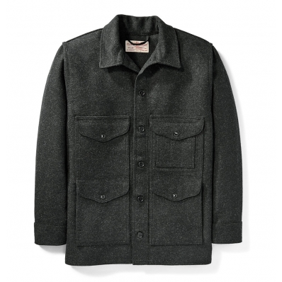 Filson Mackinaw Cruiser Dark Charcoal