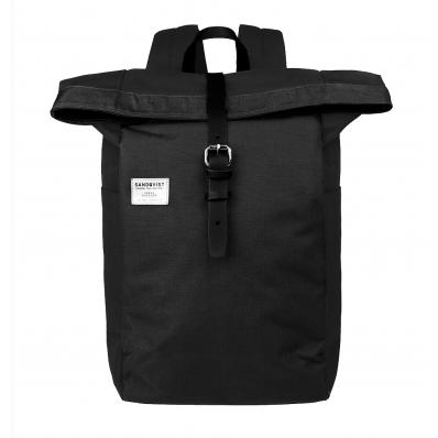 Sandqvist backpack Silas Black