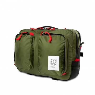 Topo Designs Global Briefcase Olive