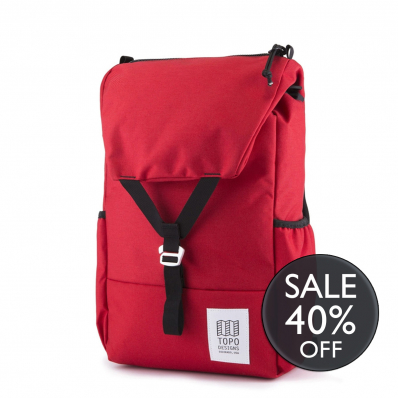 Topo Designs Y-pack Red