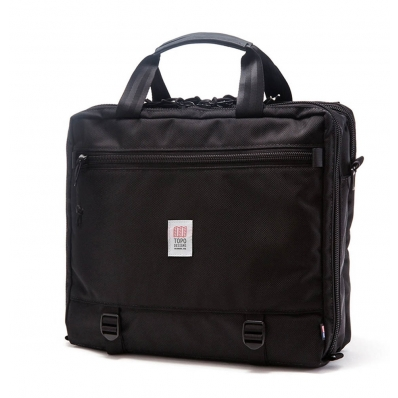 Topo 3 Day Briefcase Ballistic Black