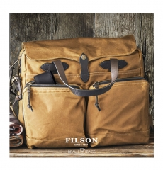 Filson 24-Hour Tin Briefcase 11070140 Tan