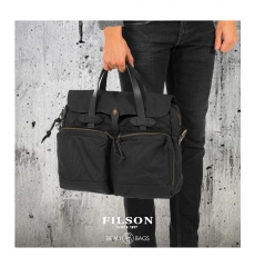 Filson 24-Hour Tin Briefcase 11070140 Black