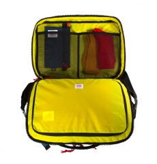 Topo Designs Global Briefcase 3-day Blue/Black Ripstop